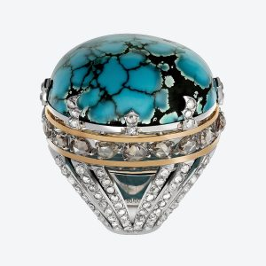 Türkis Ring